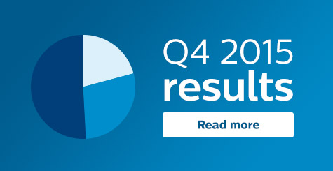 Philips announces Fourth Quarter Results 2015