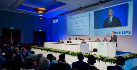 Philips' Annual General Meeting of Shareholders 2013