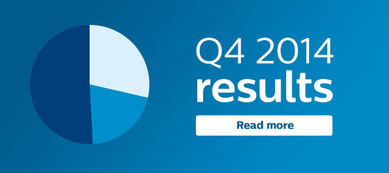 Philips fourth quarter results 2014