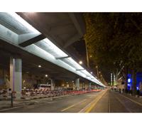 Das ökonomische Beleuchtungskonzept geht Hand in Hand mit dem Stadtprojekt