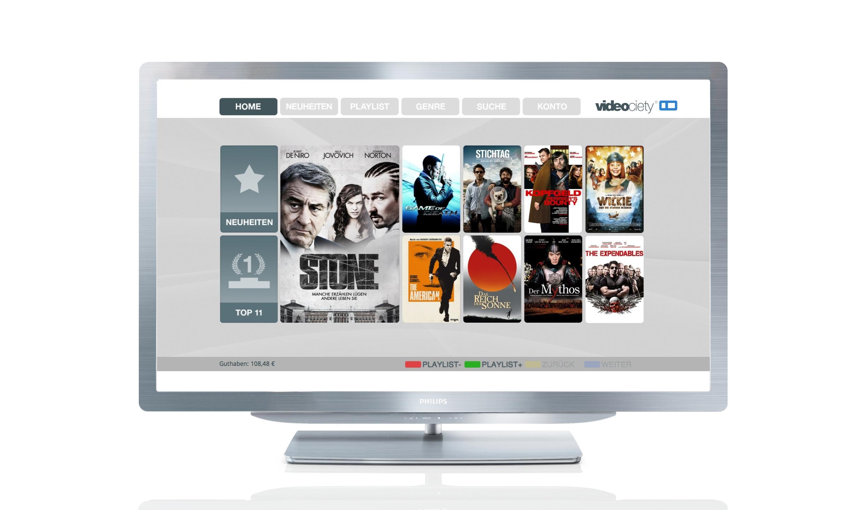 Philips Video on Demand: Videociety