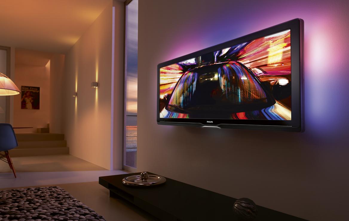 philips cinema 21 9 der erste fernseher im kinoformat. Black Bedroom Furniture Sets. Home Design Ideas