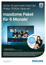 Philips Maxdome Aktion