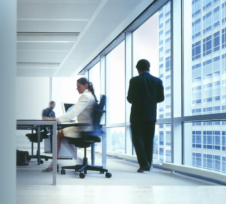 Los estudios demuestran que m s del 75 del alumbrado de for Concepto de oficina moderna
