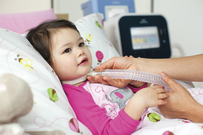 Latest medical findings in the field of ventilation for children with    Ventilator Patient Child