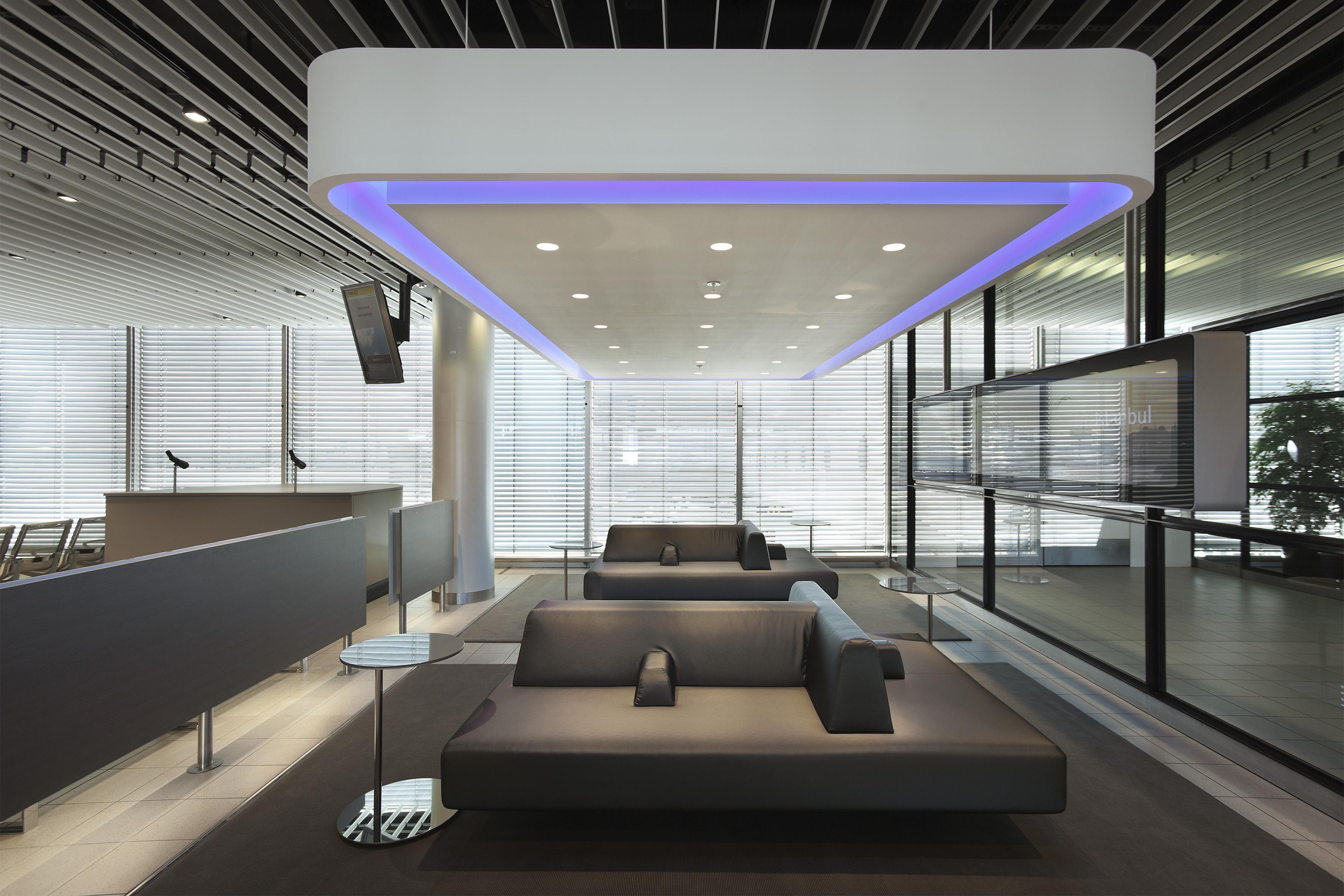 Interior design in a small waiting area joy studio for Interior lighting design standards