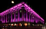 Подсветка памятников и зданий. Philips - партнер акции по привлечению внимания к проблеме раку груди