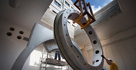 Dutch medical center begins installation of world's first high-field MRI-guided radiation therapy system