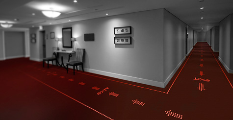 Philips and Desso announce partnership to develop light transmissive carpets