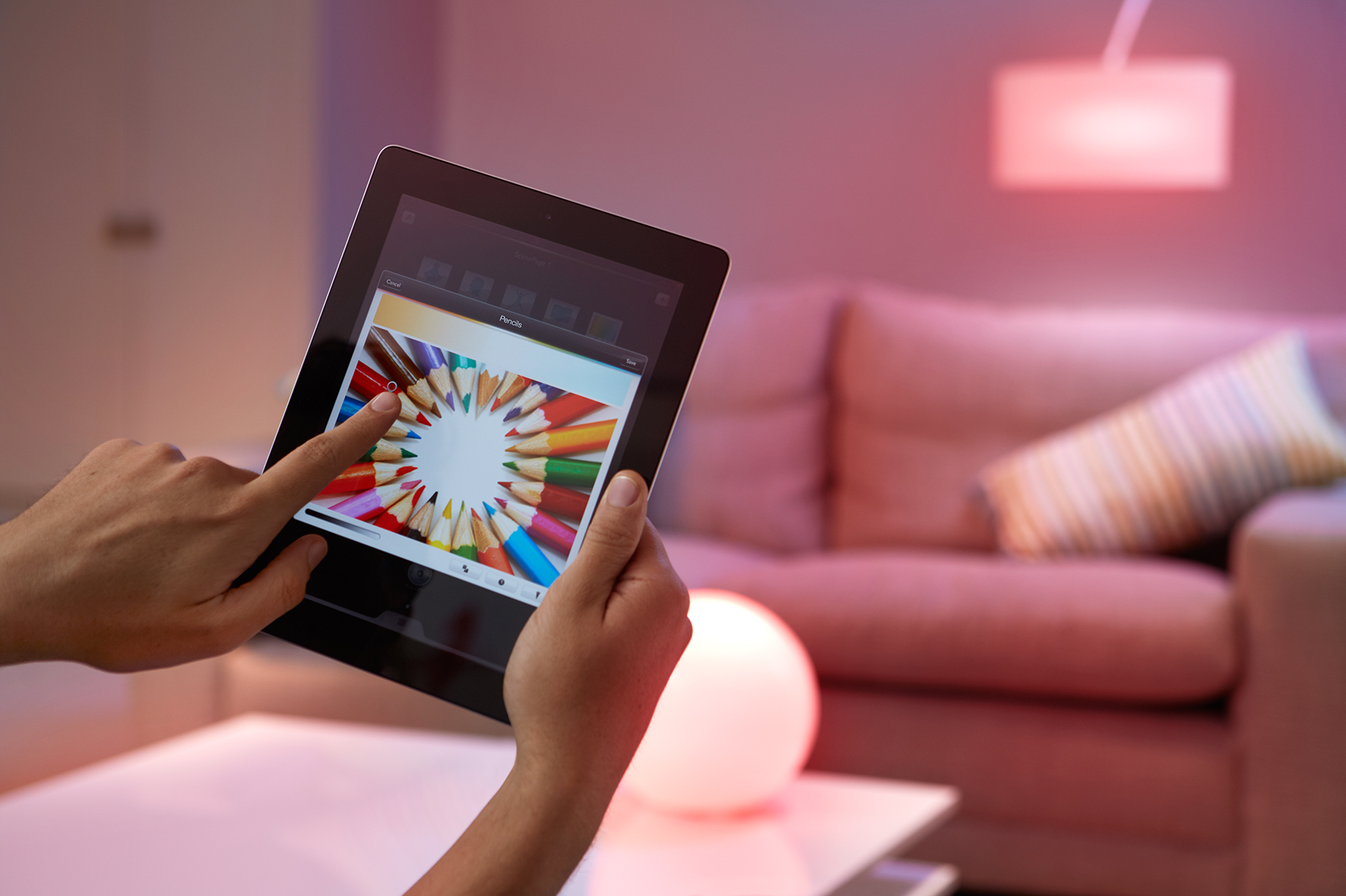 philips hue empowers endless possibilities in connected lighting launching a developer program. Black Bedroom Furniture Sets. Home Design Ideas