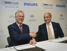 Philips CEO Frans van Houten and WMCHealth CEO Michael D. Israel