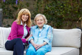 Leeza Gibbons and Betty White